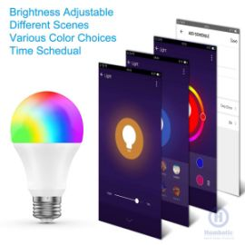 WIFI SMART LIGHT BULB HOMBOTIC